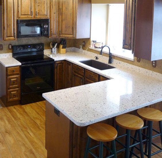 Kitchen Remodel Quartz Countertop: Seleno Silestone Quartz Countertop And SOLLiD® Cabinetry