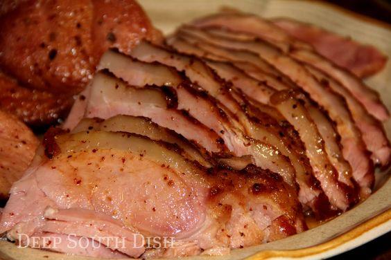 Cajun Glazed Ham
