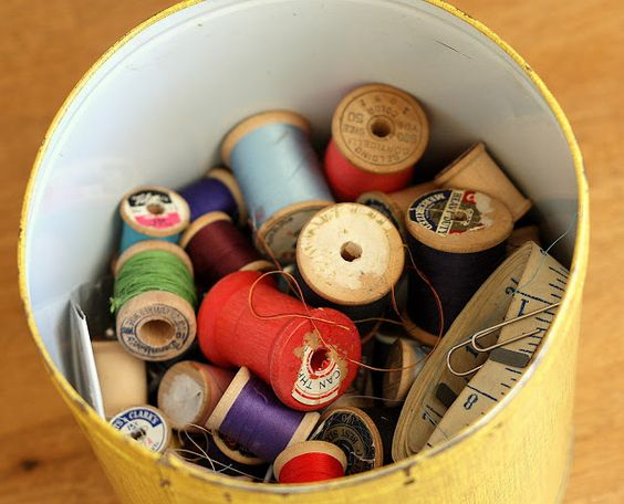 Diary of a Quilter - a quilt blog: My Own Vintage Notions