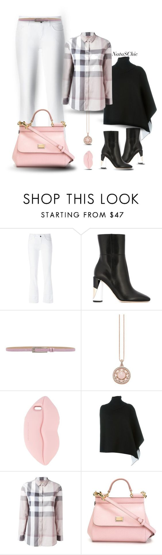 """Casual comfort"" by nataschic ❤ liked on Polyvore featuring Dolce&Gabbana, Jimmy Choo, MaxMara, Thomas Sabo, STELLA McCARTNEY, Marni and Burberry"