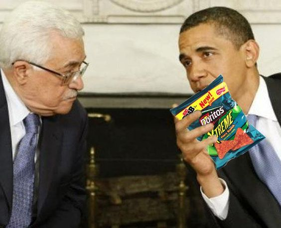 The Republican Jewish Coalition said that Obama had made the Palestinians more radical. Maybe this is how?