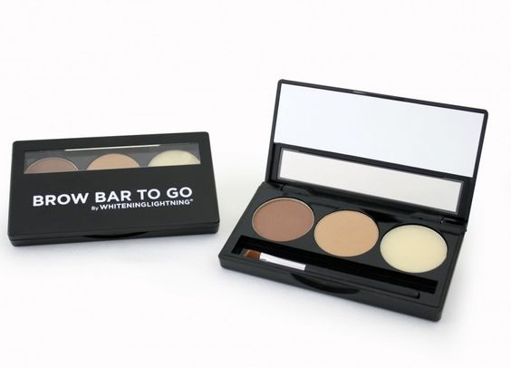 Carli Bybel's only eyebrow makeup - Whitening Lightning Brow Bar