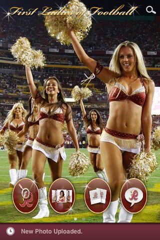 The Official Washington Redskins Cheerleader   Halloween ...