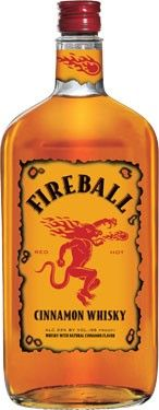 Fireball and Dr. Pepper