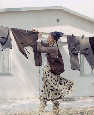 a clothes line