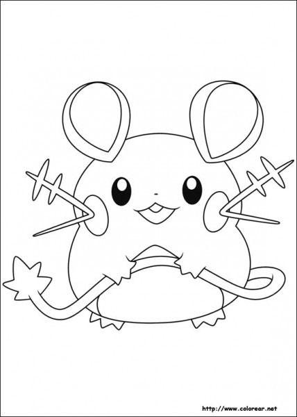 Dibujos De Pokemon Para Dibujar Colorear Pintar E Imprimir