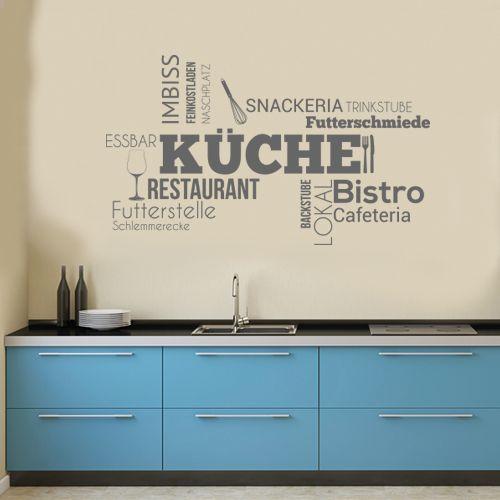 Wandtattoo Gerichtssaal Küche Wohnideen Pinterest Wand - küchen wandtattoo sprüche