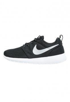 Nike Sportswear - ROSHE ONE - Sneaker low - black/metallic platinum/white