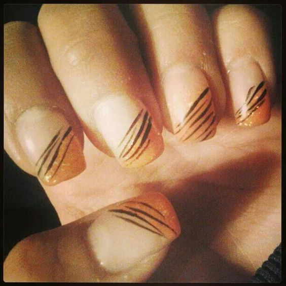 #Zebra#gelnails#nails#gel