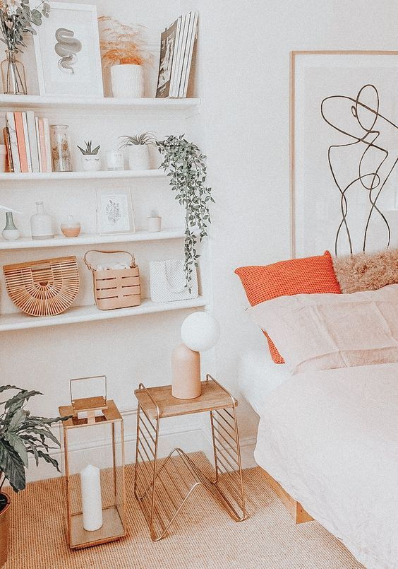 Line Art Print Minimalist Abstract Modern Wall Decor Etsy Retro Home Decor Retro Home Decor