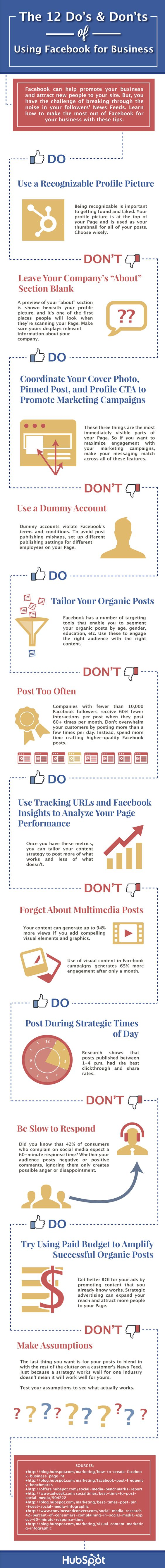 12 top tips for using Facebook to promote your work   The giants ...