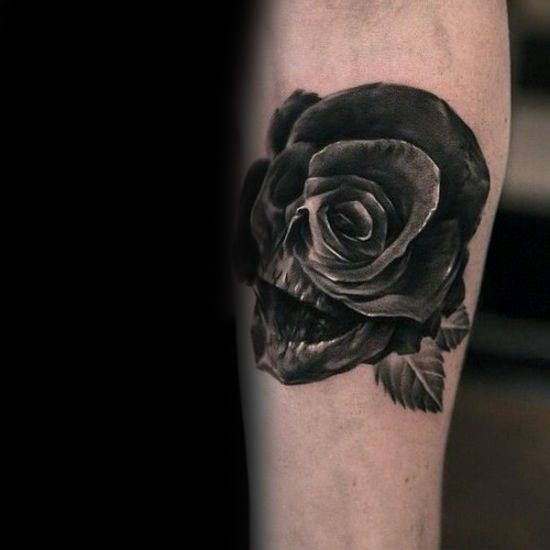 Top 73 Black Rose Tattoo Ideas 2020 Inspiration Guide Black Rose Tattoos Rose Tattoo Design Tattoo Designs Men