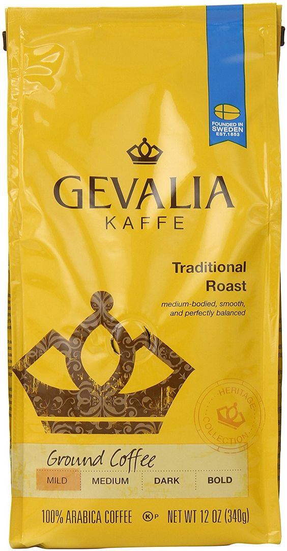 Gevalia Roast and Ground Coffee, Traditional Blend, 12 Ounce (Pack of 6) -- Insider's special review that you can't miss. Read more :  : Amazon fresh: