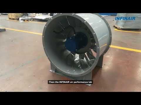 infinair axial fan inline fan inline