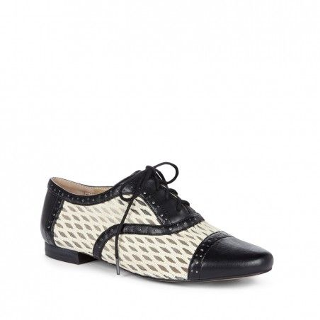 Sole Society - Lace up oxfords - Liesy - Black These are sharp dressed shoes. Love the cream and black look. Casual and elegant! solesociety.com