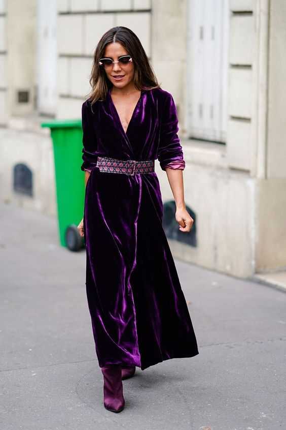 38 Velvet Outfits That Make You Look Fabulous