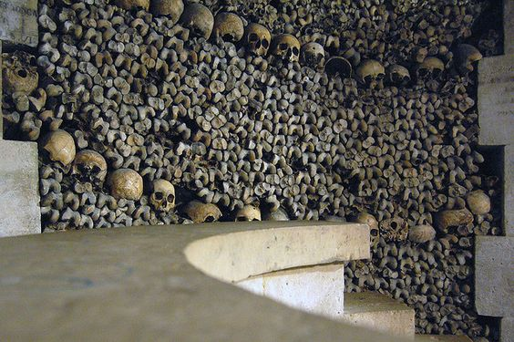 deep in the catacombs Here are 7 cool catacomb facts you need to know 1 at some points, the catacombs go five stories deep that's really far below ground.