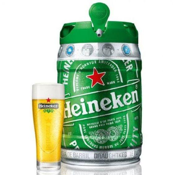 Bia Heineken Hà Lan 5% - Bom 5l - Bia Nhập Khẩu