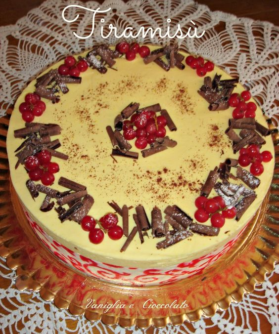vaniglia e cioccolato: Torta Tiramisù di Natale(gluten free)