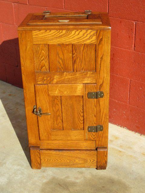 Knickerbocker Antique Ice Box Our New Home Decor