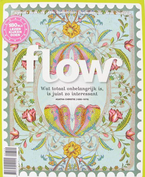 Noortje Janmaat Flow Magazine Papaya Art Border Flower