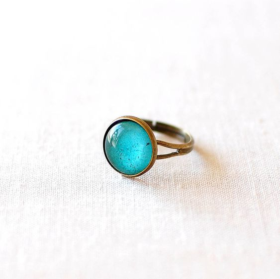 Emerald Ring from notonthehighstreet.com
