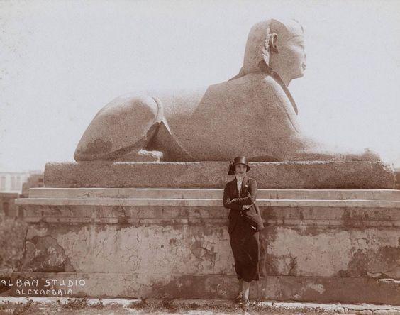 Anna PAvlova in Egypt, 1923