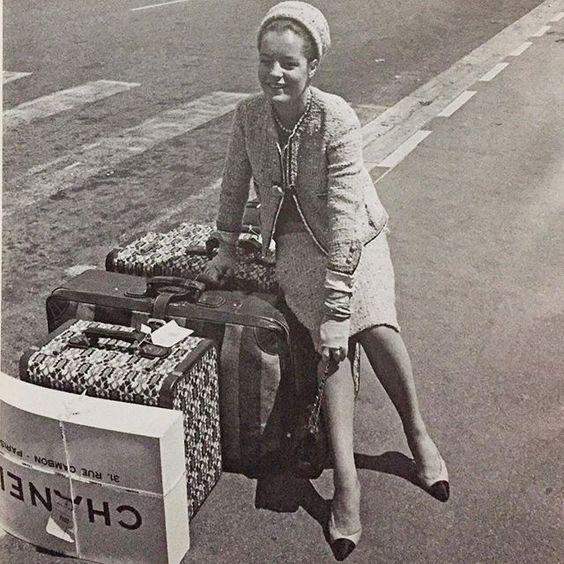 #chanel #romyschneider #fashion #1960s