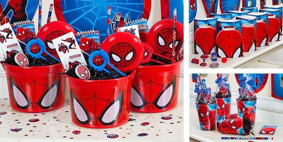 Idea 3 de cumple Spiderman by MundoMab