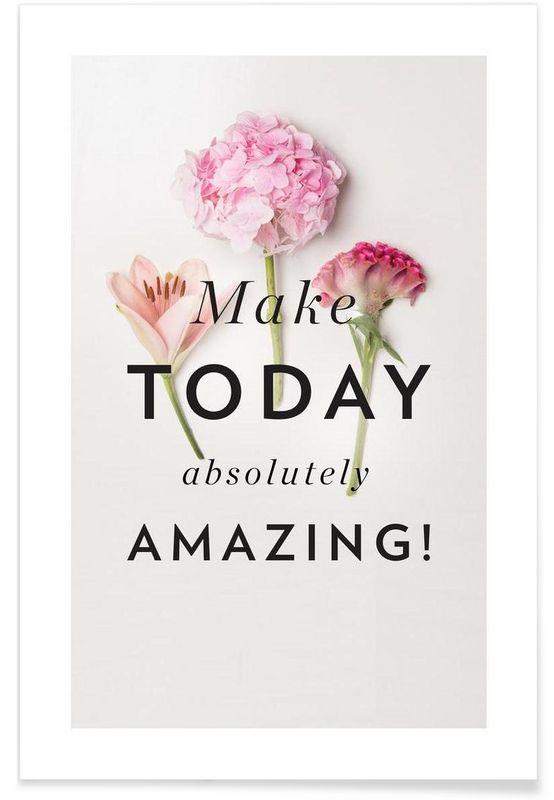 Amazing Days als Premium Poster von BLOOMY DAYS | JUNIQE