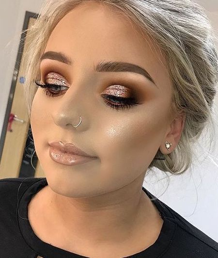 How To Get A Soft Glam Makeup Look Fascinating Soft Makeup Look Glam Makeup Soft In 2020 Soft Glam Makeup Soft Makeup Looks Glam Makeup