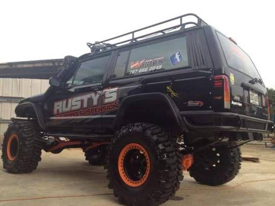 Guns Oil Dirt Jeep Cherokee Built Jeep Jeep Xj