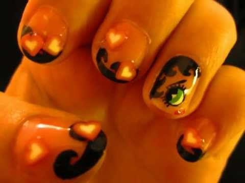Betty Boop Nail Art Tut