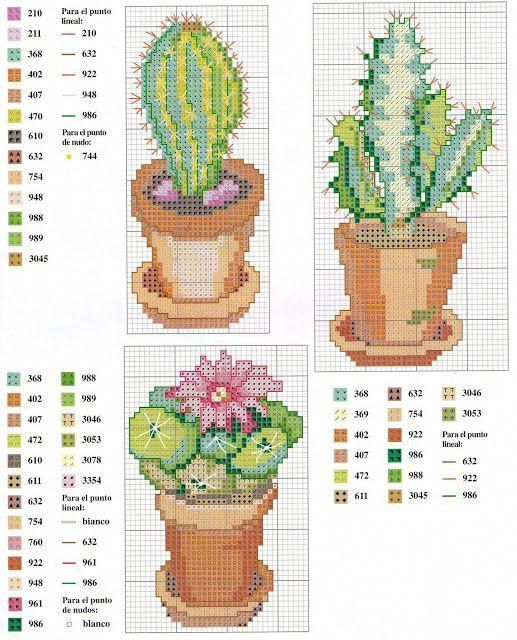 Cactus Cross Stitch Pattern 13 Instant Pdf Download Etsy In 2020 Cactus Cross Stitch Floral Cross Stitch Cross Stitch Patterns Flowers