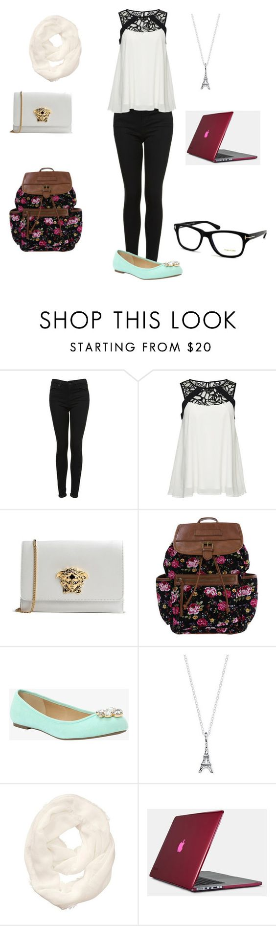 """""""We are different and here one of us"""" by aylssa ❤ liked on Polyvore featuring mode, Topshop, ONLY, Versace, Torrid, Athleta, Speck en Tom Ford"""