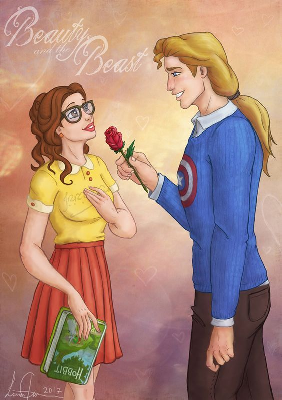 Modern Belle A Rose For A Pretty Lady By Morloth88 Disney Princess Art Modern Disney Disney And Dreamworks