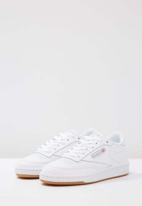 CLUB C 85 - Baskets basses - white/light grey @ ZALANDO.FR ...