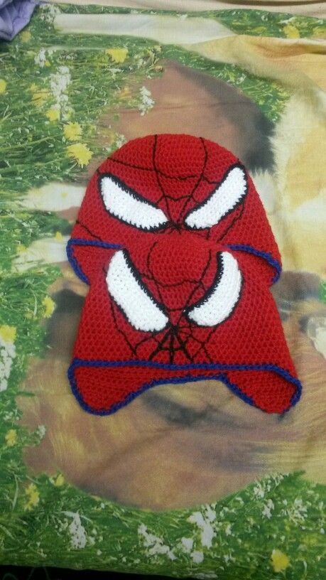 Spiderman-Mützen