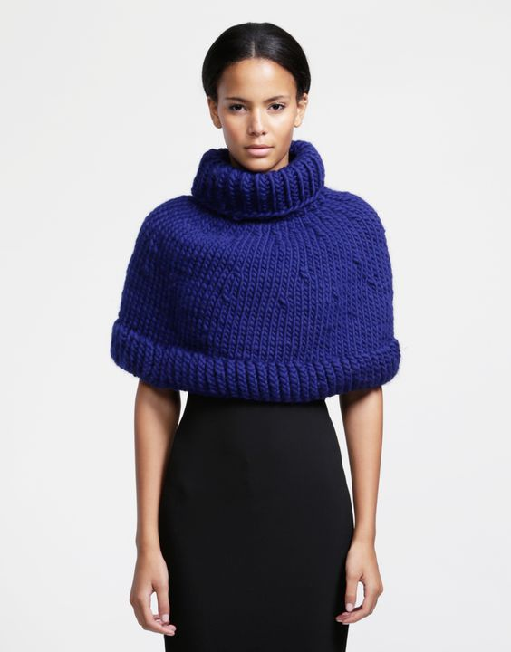 Ring My Bell Cape in Crazy Sexy Wool - COMING SOON! #woolandthegang #knitwear #crazysexywool