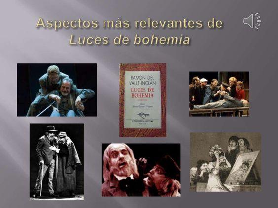 Powerpoint que analiza los aspectos más relevantes de la obra de Valle Inclán.