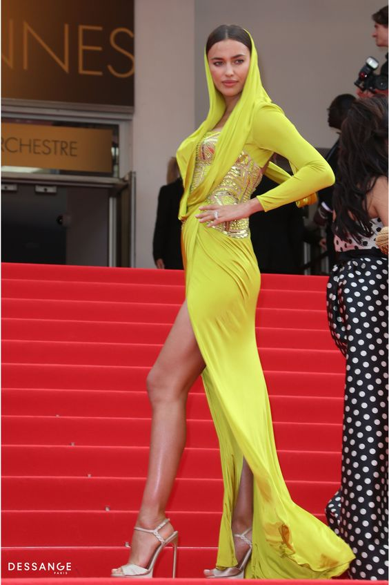 Irina Shayk (Photo YAN MAISANI) #Cannes2014 #DESSANGE