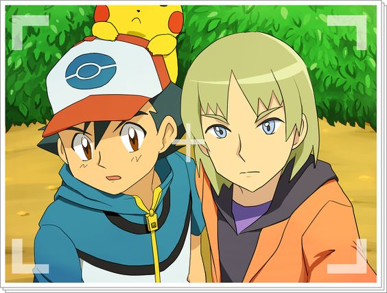 Satoshi/Ash and Shooti/Trip