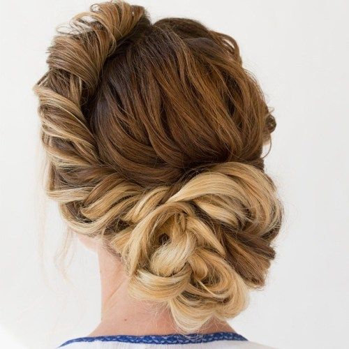 40 Most Delightful Prom Updos For Long Hair In 2020 In 2020 Long Hair Styles Hair Styles Wedding Hairstyles For Medium Hair