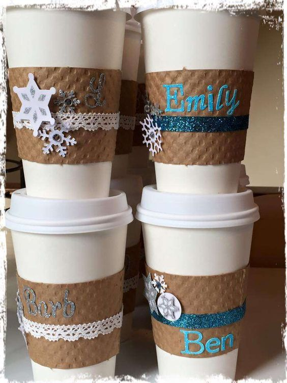 Frozen ice skating birthday party drinks! See more party ideas at CatchMyParty.com!