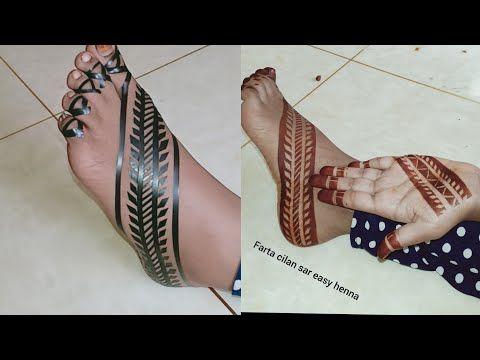 Woow Cilaan Sharoto Qatar Ah Lugaha Iyo Gacmaha Beautiful Henna Sudanese Youtube Tribal Henna Designs Geometric Henna Legs Mehndi Design