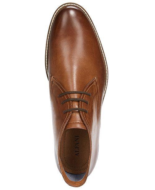 Alfani Men Jason Lace Up Boots Men Shoes In 2020 Leather Lace