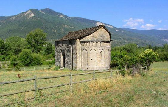 San Juan de Busa - Comarca del Serrablo, provincia de Huesca