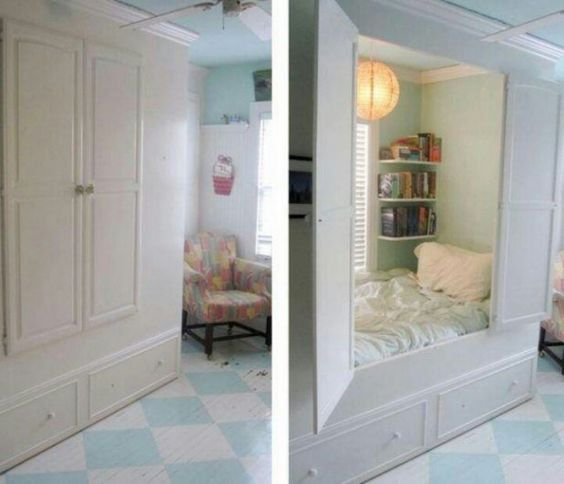 I Like The Cupboard Shape Possibility For Built Ins In: Made To Look Like A Storage Cabinet. Built
