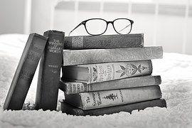Stapel Von Büchern, Vintage Bücher, Buch