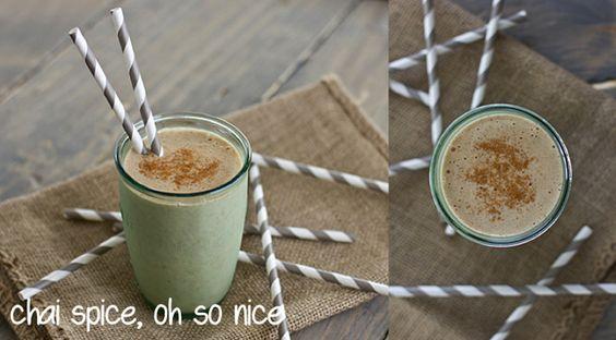 chai spice shake